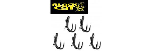 Black Cat Haken Vorfächer und Wirbel