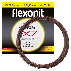 Flexonit 1x7 - 0,24mm / 5,3 kg / 4m