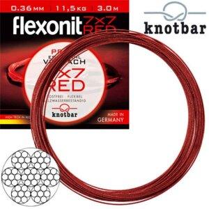Flexonit RED 7x7 - 0,27 mm 6,8kg 1m