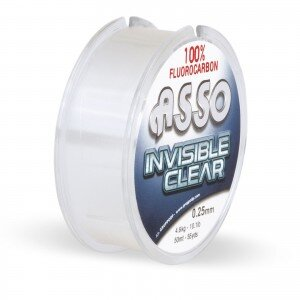 ASSO Invisible Clear Fluorocarbon Ø0,21mm 3,40kg