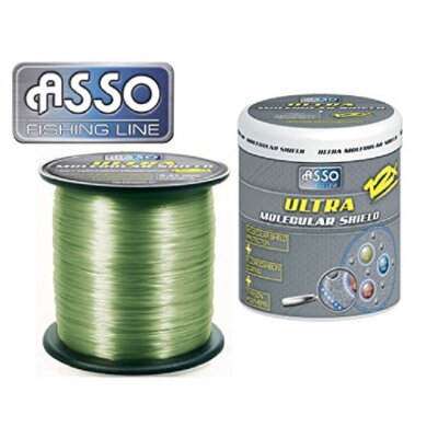 ASSO Ultra Molecular Shield Carp 0,28mm 10lb 1200m