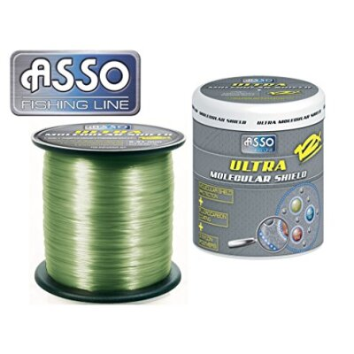 ASSO Ultra Molecular Shield Carp 0,30mm 12lb 1200m