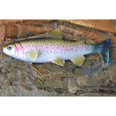 Jenzi Realistic Trout - Brown Trout 15cm
