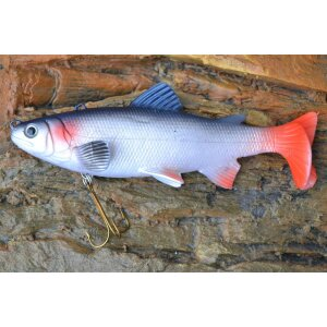 Jenzi Realistic Trout - Silver Minnow 15cm
