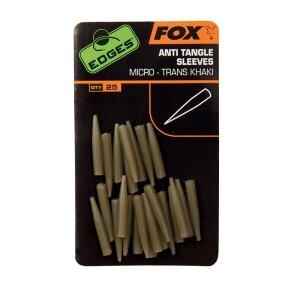FOX Edges Anti Tangle Sleeves Trans Kahki - Micro