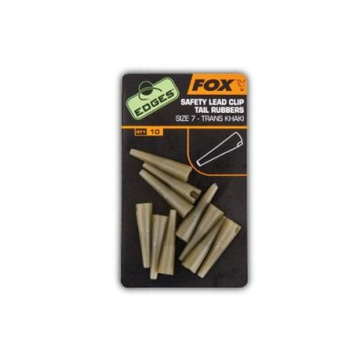 Fox Safety Lead Clip Tail Rubbers Size 7