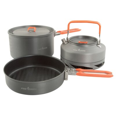 Fox Cookware Medium 3pc Pan Set