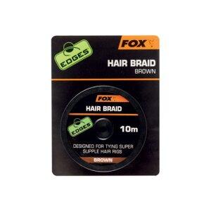 Fox Hair Braid 10m braun