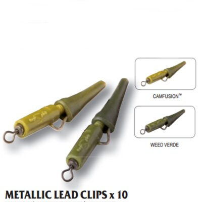 Carp Spirit Metallic Lead Clips Camfusion