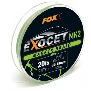 Fox Exocet MK2 Marker Braid 300m 0,18mm