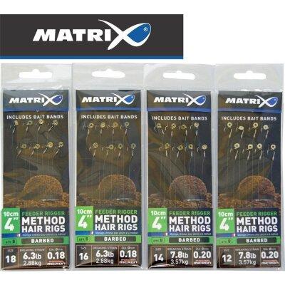 Matrix Feeder Rigger Method Hair Rigs 8 Stück