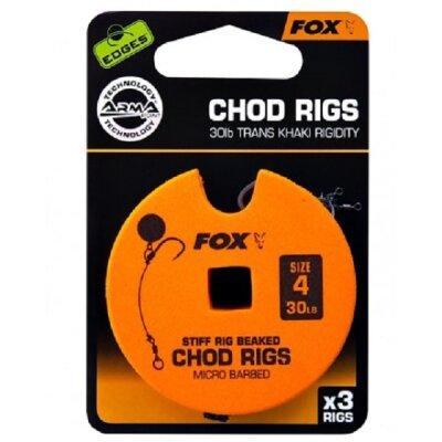 Fox - Armapoint Stiff Chod Rig 25lb Gr.8 Standart