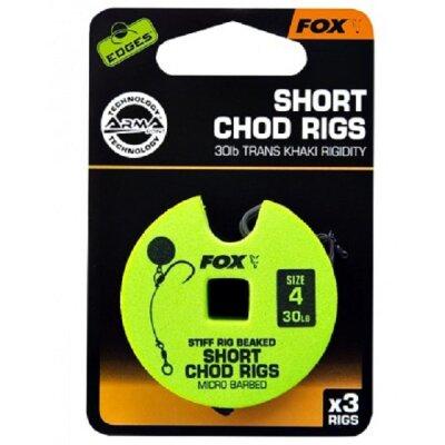 Fox - Armapoint Stiff Chod Rig 25lb Gr.8 short