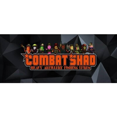 Combat Shads Strong Garlic 7,5cm 2 Stück