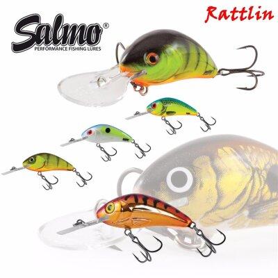 Salmo Rattlin Hornet Floating 5,5cm