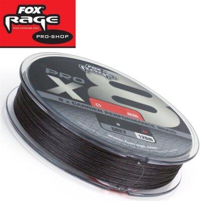 Fox Rage Pro X8 Premium Braid Grau 120m