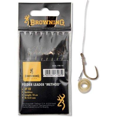 Browning Feeder Leader Method Power Pellet Band 6St. 10cm