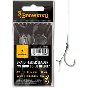 Browning - Braid Feeder Leader Method Boilie Needle Gr.4