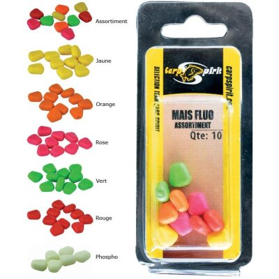 Carp Spirit Fluro Floating Corn Gelb