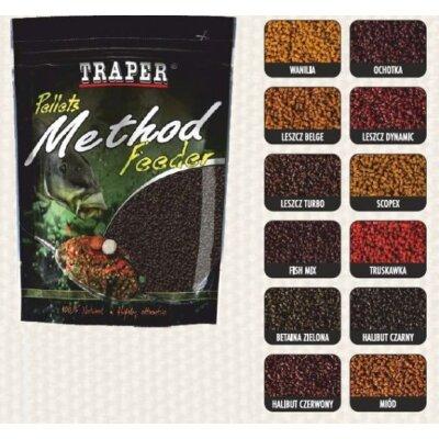 Traper Pellets Method Feeder Ready 500g 2mm
