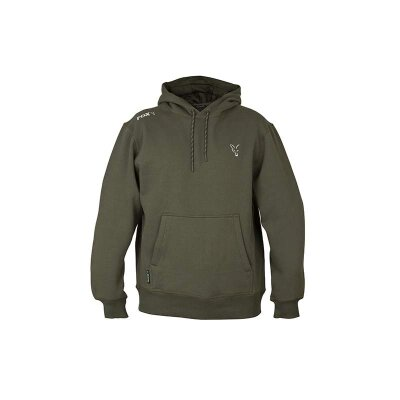 Fox Collection Green Silver Hoody