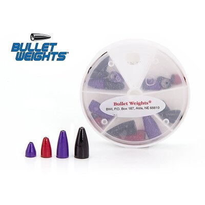 Bullet Weights Painted Bullet Weights 18 Teile