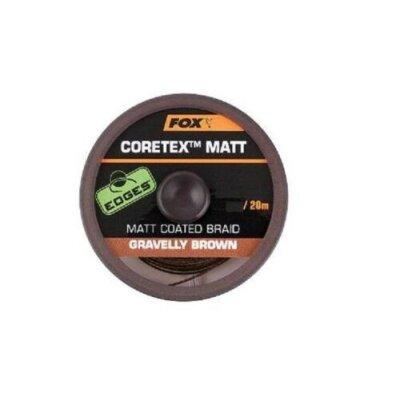 Fox Coretex Matt  Gravelly Brown 15lb 20m