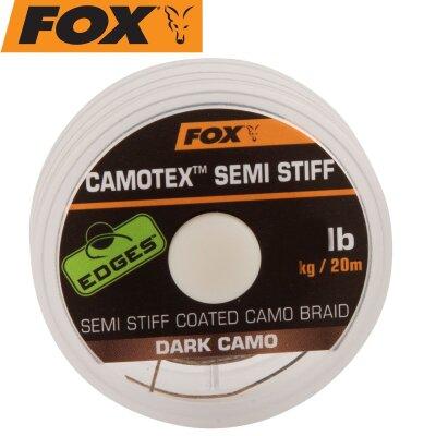 Fox Camotex dark Semi Stiff 20m 35lbs 15,8kg