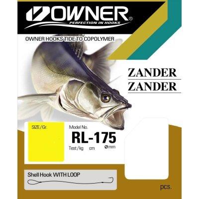 Owner Zander , Silber Ø0,28mm Gr.1 Imhalt 8...