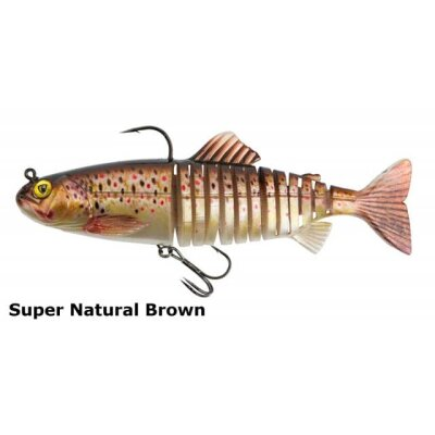 Fox Rage Replicant Jointed Brown Trout 23cm 150g