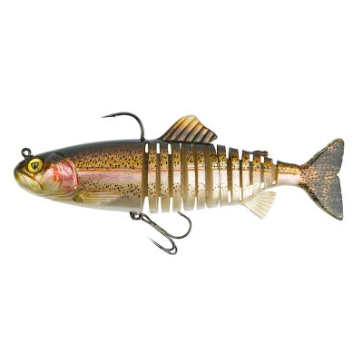 Fox Rage Replicant Jointed Rainbow Trout 23cm  150g