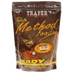 Traper Pellets Method Feeder Ready 500g 2mm Crazy Scopex