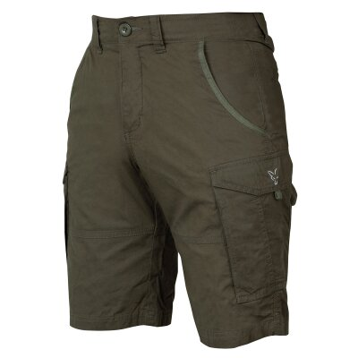 Fox Collection Green / Silver Compact Shorts