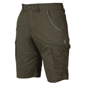 Fox Collection Green / Silver Compact Shorts M