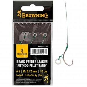 Browning Feeder Leader Method Pellet Band 3St. 10cm