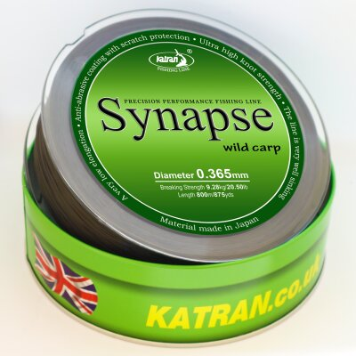 Katran Synapse Wild Carp 1000m 0,328mm 7,01kg