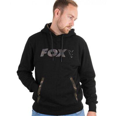 Fox Black Camo Print Hoody