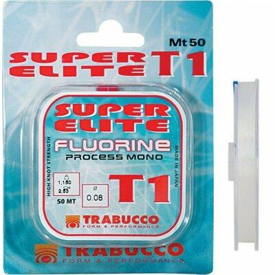 Trabucco Super Elite T1 Fluorine 50m 0,18mm 5,38kg