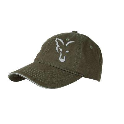 Fox Green Silver Cap