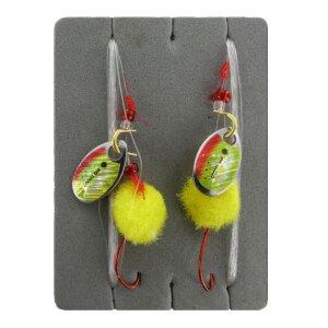 Jenzi - Forellenvorfach gelb