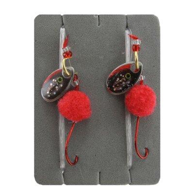 Jenzi - Forellenvorfach rot