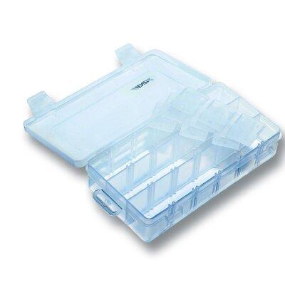 Kunststoff-Box,transparent 177x92x35mm