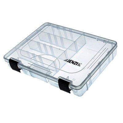 Kunststoff-Box, transparent 275 x 180 x 42 mm